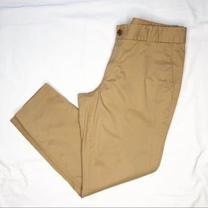 "J. Crew Frankie Chino Pants Size 14 in ""Saddle"""